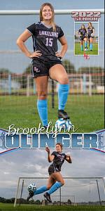 G Soccer Brooklynn Olinger Banner