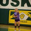Varsity Volleyball held at Home,  Arizona on 9/13/2015.