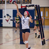 Varsity Volleyball held at Home,  Arizona on 9/20/2015.