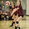Varsity Volleyball held at Home,  Arizona on 10/4/2015.