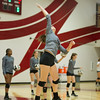 Varsity Volleyball held at Home,  Arizona on 10/4/2015.