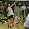 Varsity Volleyball held at Home,  Arizona on 10/6/2015.