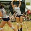 Varsity Volleyball held at Home,  Arizona on 10/6/2015.