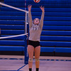 Varsity Volleyball held at Home,  Arizona on 10/18/2015.