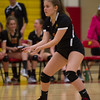 Varsity Volleyball held at Home,  Arizona on 10/20/2015.