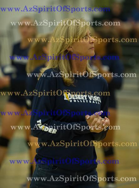 Varsity Volleyball held at Home,  Arizona on 11/2/2015.