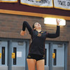 Volleyball held at Home,  Arizona on 11/9/2015.