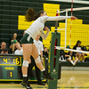 Varsity Volleyball held at Home,  Arizona on 9/22/2015.