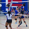 Varsity Volleyball held at Home,  Arizona on 9/27/2015.