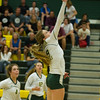 Varsity Volleyball held at Home,  Arizona on 10/25/2015.