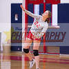 174608High School Volleyball held at Home,  Arizona on 10/2/2018.