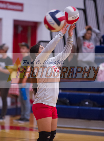 173203High School Volleyball held at Home,  Arizona on 10/2/2018.