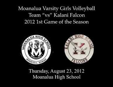 High School Volleyball 2012