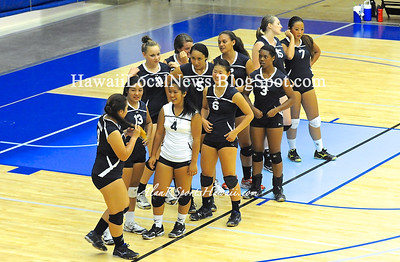 "08-28-12 Moanalua Girls Volleyball ""vs"" Anuenue (Blue 7-25 3-25 JV 10-25 8-25 Varsity 25-10 25-15)"