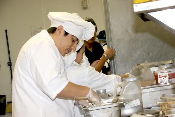 GCM Culinary Students at Carino's