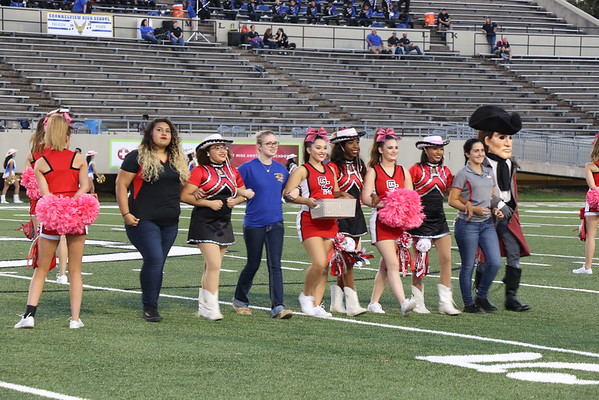 Homecoming Game and Court