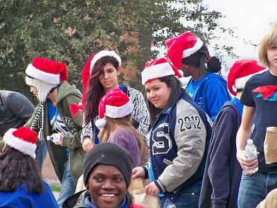 Band Christmas Donations, 1/18/2012