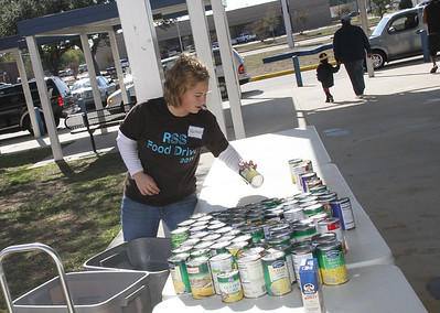 RSS Annual Thanksgiving Food Drive, 11/18/2011