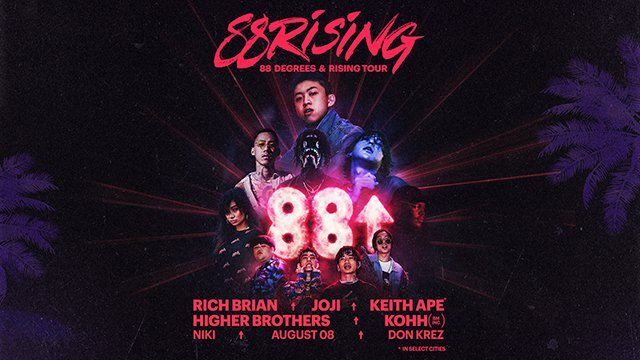 Higher Brothers - 88 Degrees & Rising Tour