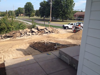 HF Construction Parking Lot