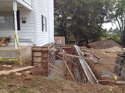 HF Construction ADA ramp
