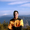 10/31/99: Mt.Willey Summit. The White Mountain National Forest with Mt.Washington in the left background