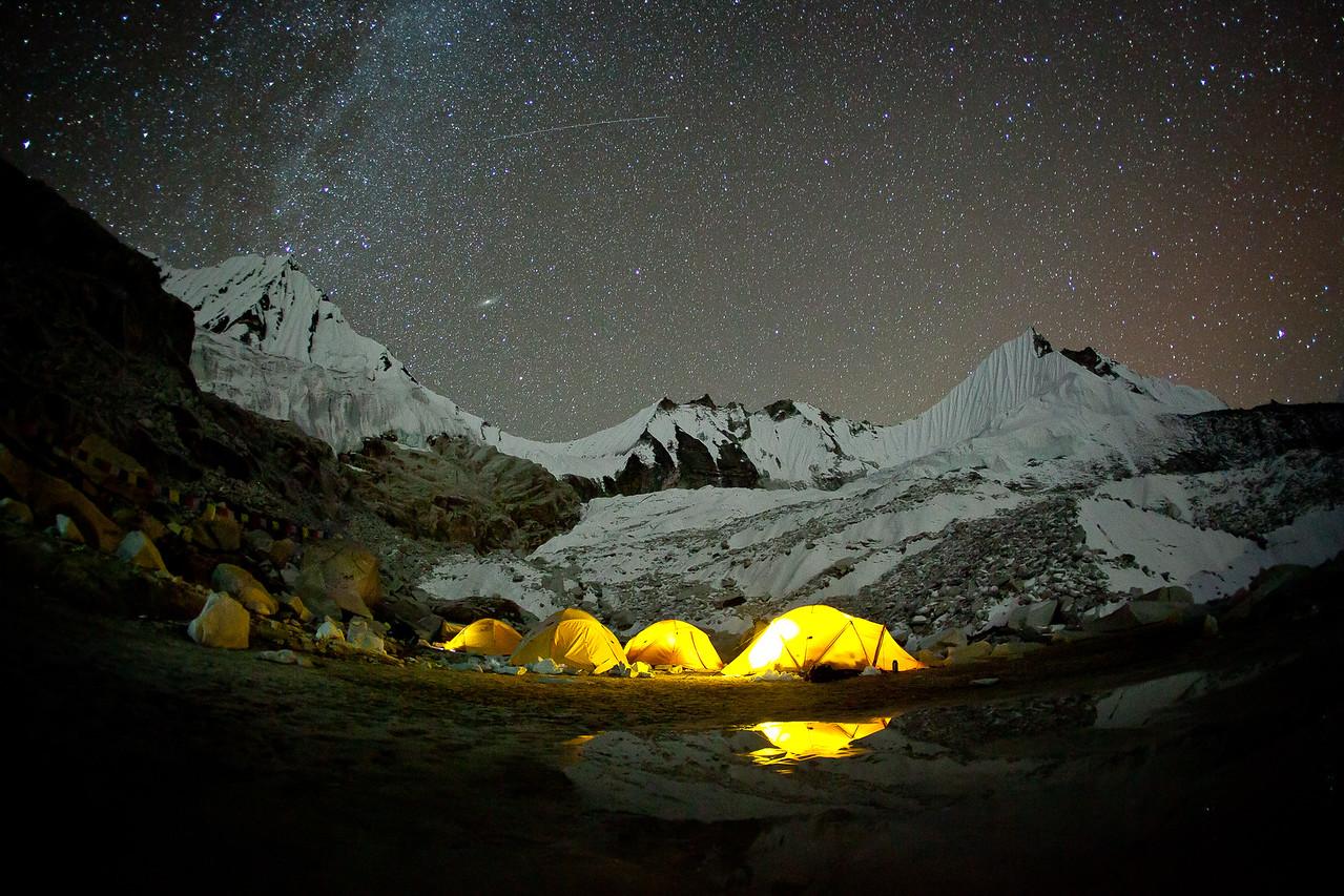 Shangri - La High Camp 18,500ft - Nepal