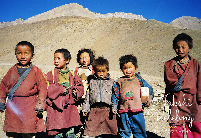 Children of Do-Tharap Himalaya