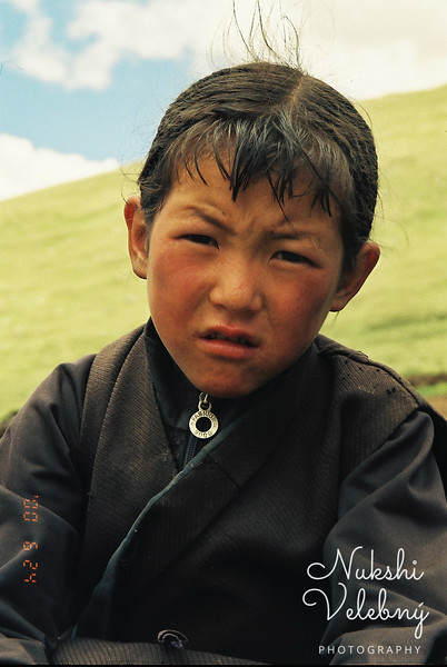 Little girl from the Himalayan pasture