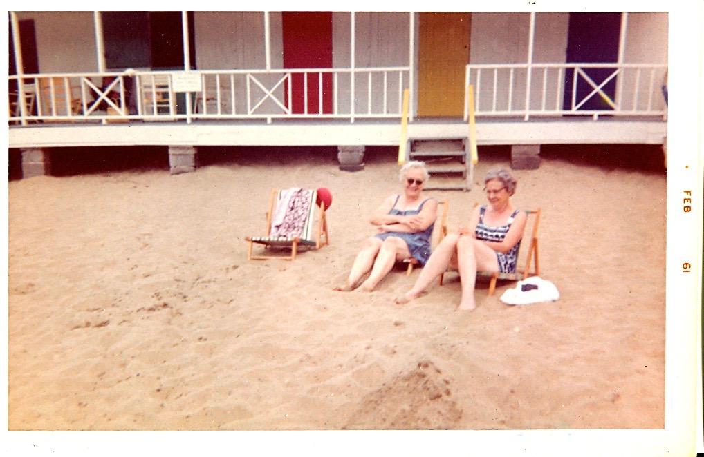Unknown beach, 1961