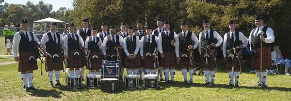 Highland Games, Ringwood, Pipe Bands, 2006