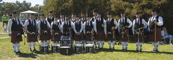 Highland Games, Ringwood, Pipe Bands, 2006