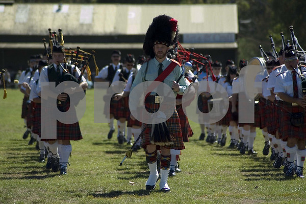 Highland Gather, Berwick, Pipe Bands, 2006