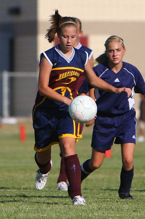 Highland Jr Soccer vs Mesquite 9-16-08