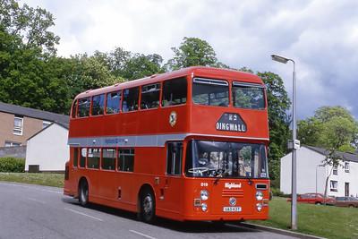 Highland D19 Dochcarty Road Dingwall Jun 85