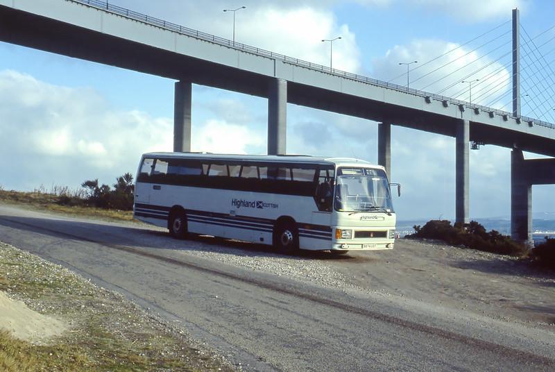Highland E10 North Kessock 2 Mar 85