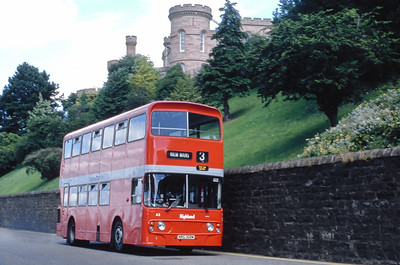 Highland A3 Castle Road Inverness Jul 85
