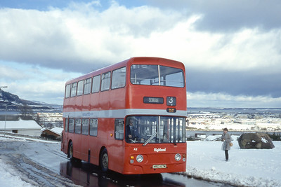 Highland A2 Scorguie Road Inverness 2 Mar 85