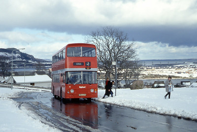 Highland A2 Scorguie Road Inverness 1 Mar 85