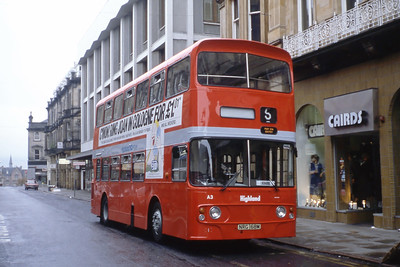 Highland A3 Queensgate Inverness Aug 84