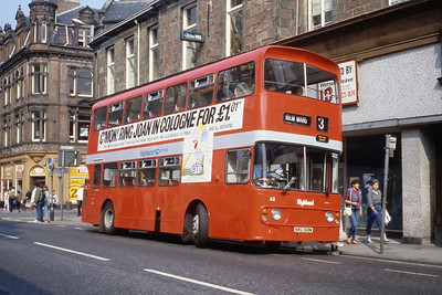 Highland A3 Academy Street Inverness Aug 84