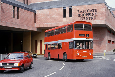 Highland A3 Eastgate Inverness Jul 85