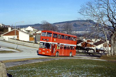 Highland A5 Scorguie Road Inverness 2 Feb 85