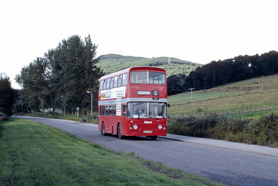 Highland A1 Leachkin Road Invwerness Aug 85