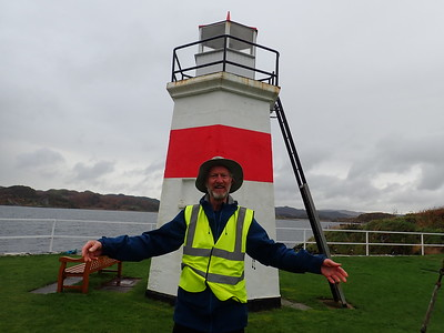 Crinan Lighthouse!
