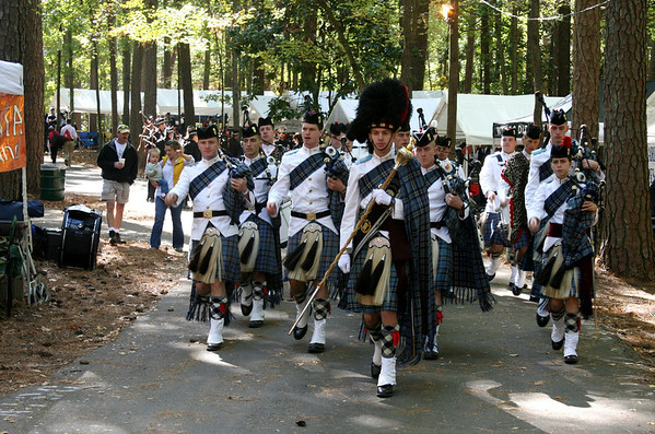 2012 Citadel (The Military College of South Carolina)  Pipes and Drums