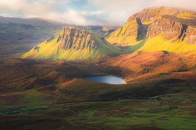 The Quiraing. Isle of Skye, Scotland