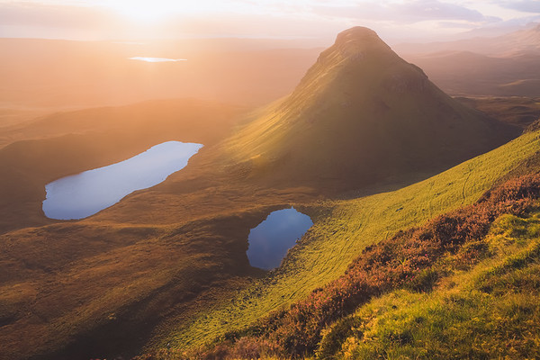 Golden Glow at the Cleat. Isle of Skye, Scotland