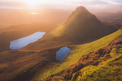 Morning Glow at the Cleat. Isle of Skye, Scotland
