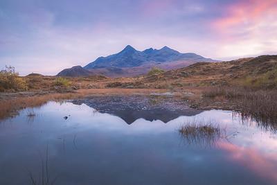 The Black Cuillins. Isle of Skye, Scotland